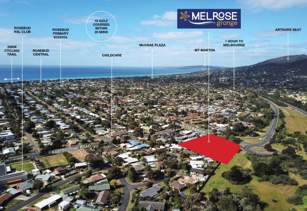 Melrose Grange location